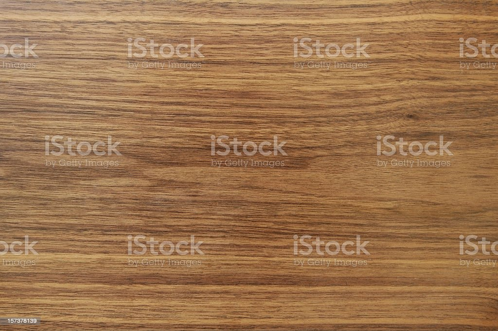 Horizontally grained wood floor background in brown shades stock photo