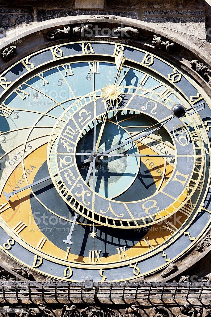 horloge, Prague royalty-free stock photo