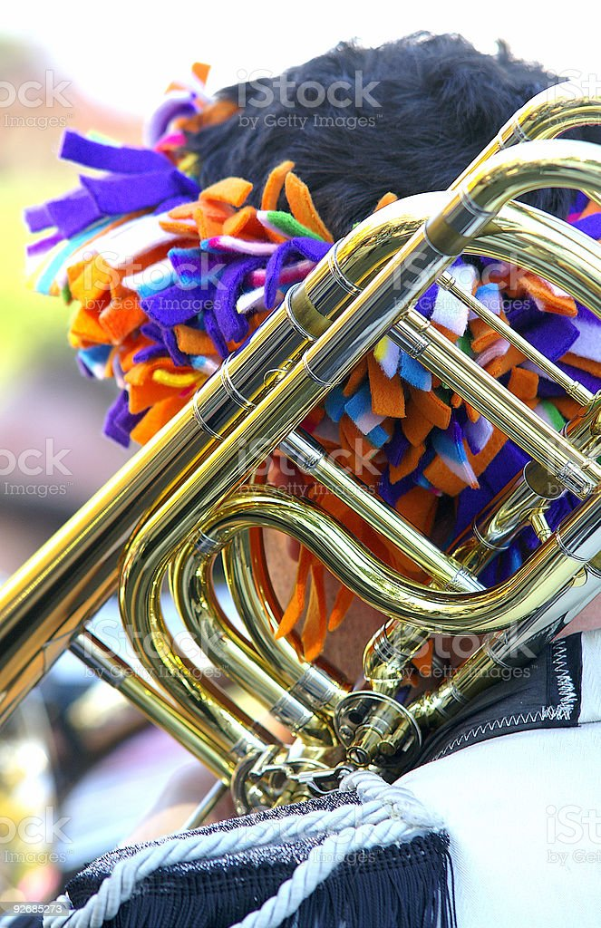 Horn time too royalty-free stock photo