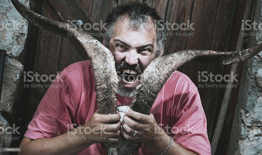 Horn Vampire stock photo