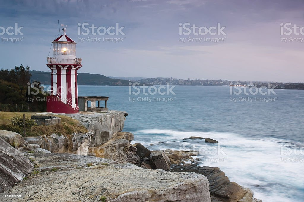 Hornby Lighthouse royalty-free stock photo