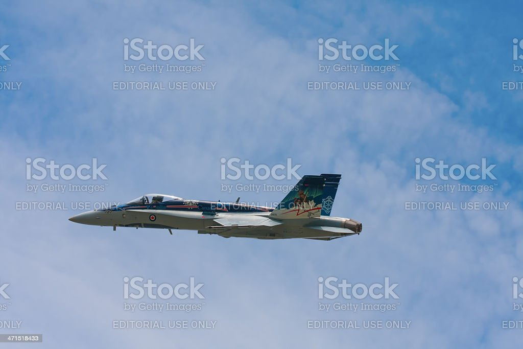 hornet jet fighter royalty-free stock photo
