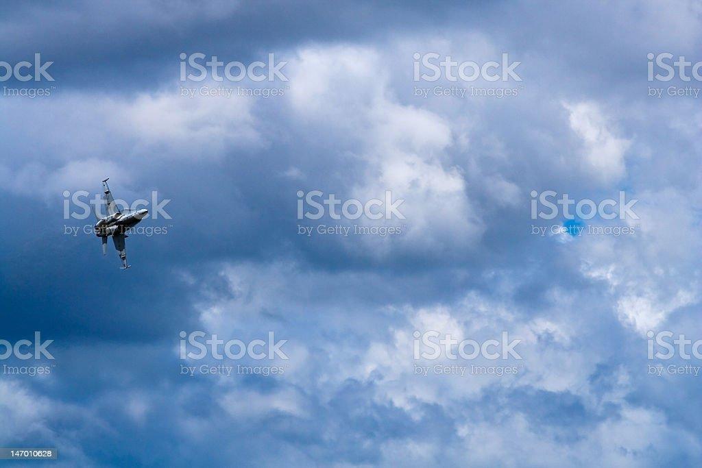 FA-18 Hornet royalty-free stock photo