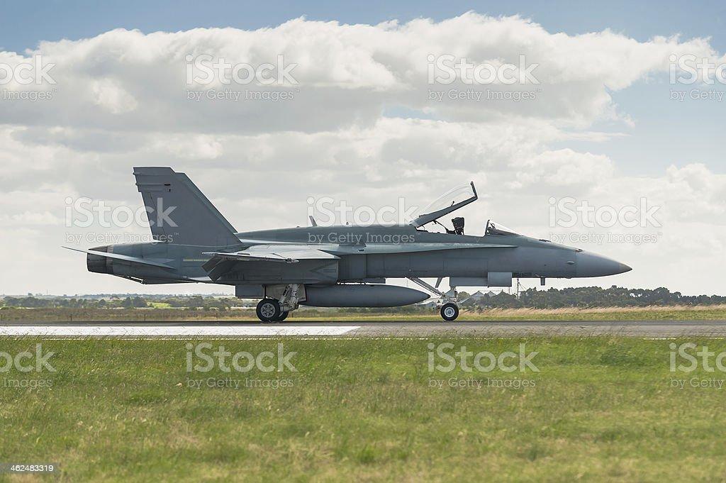 F18 Hornet royalty-free stock photo