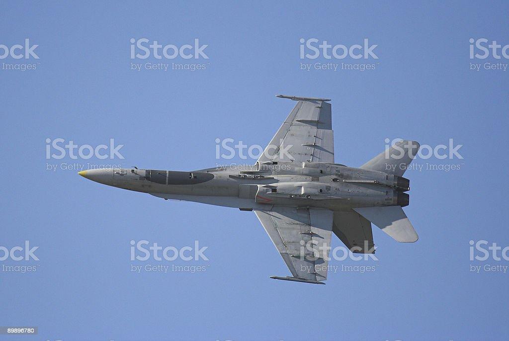 F-18 Hornet stock photo