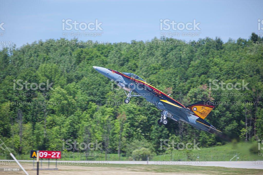 CF-18 Hornet – RCAF stock photo