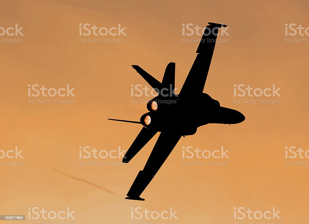 Hornet Sunset royalty-free stock photo