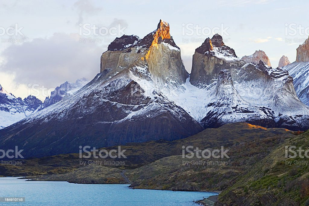 Horns of Paine royalty-free stock photo