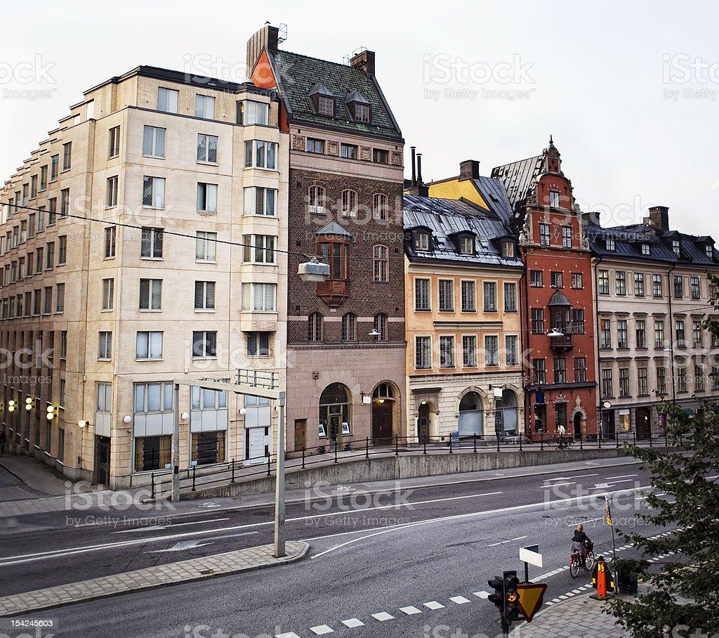 Hornsgatan street in Stockholm, Sweden royalty-free stock photo