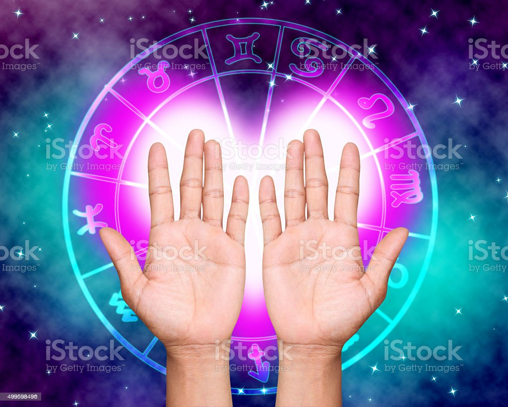 horoscope stock photo