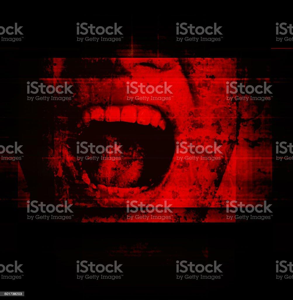 Horror Background stock photo