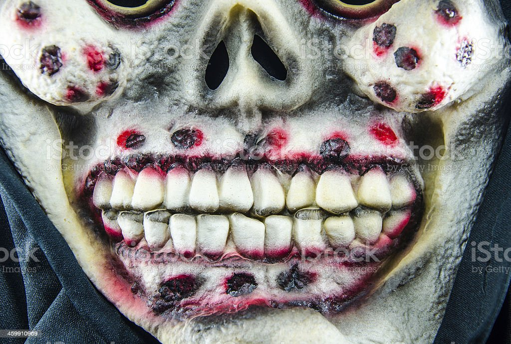 Horror Ghost Mask royalty-free stock photo
