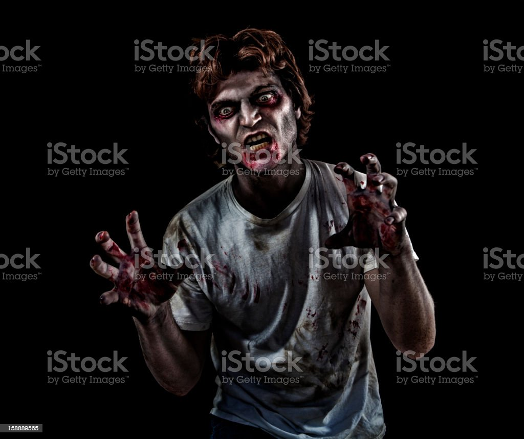 Horror Zombie Series stock photo