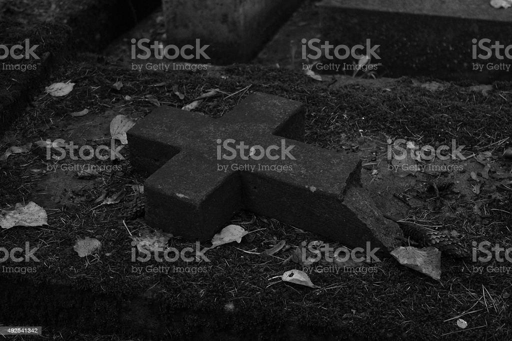 Horror/Cemetery stock photo