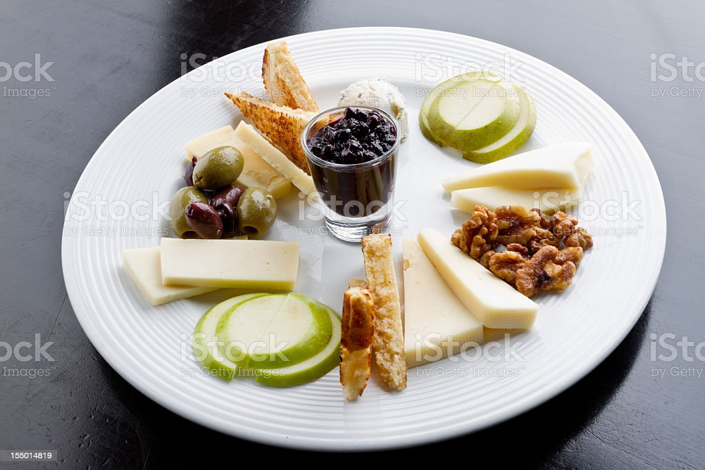 Hors d'oeuvres Appetizer Platter stock photo