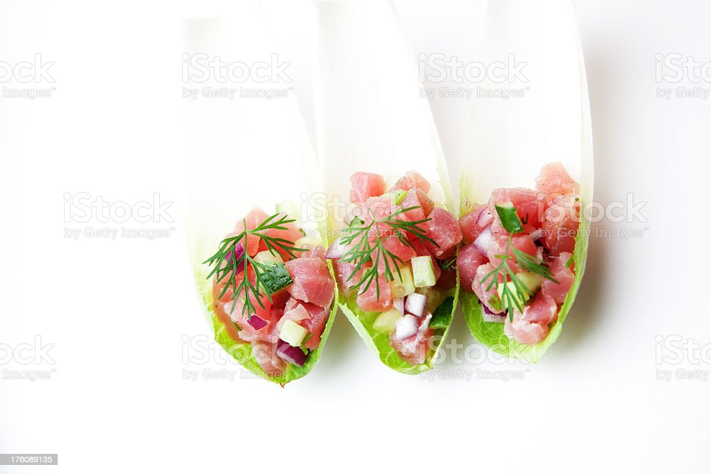 Hors D'oeuvres royalty-free stock photo