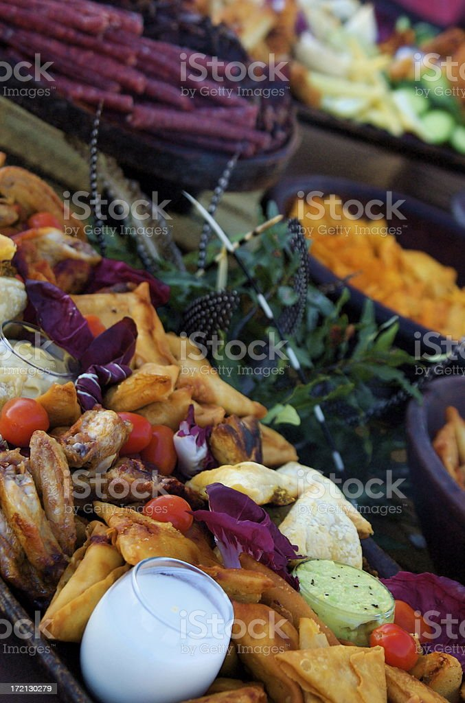 hors d'oeuvres-1 stock photo