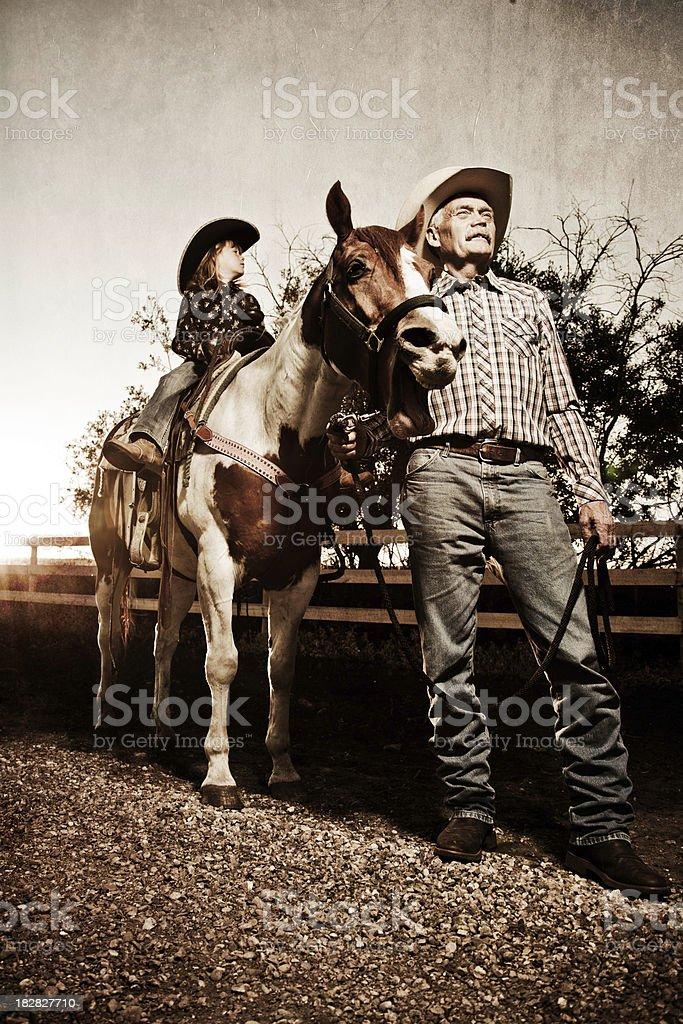 Horse Back Riding royalty-free stock photo