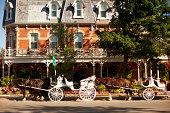 Horse drawn carriage in Niagara