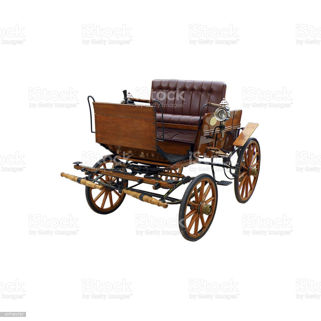 Horse drawn Carriage stock photo