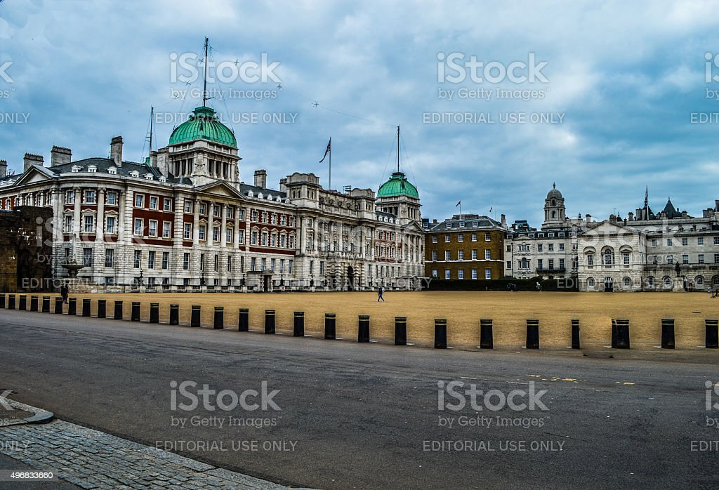 Horse Guards Palace - London, UK stock photo