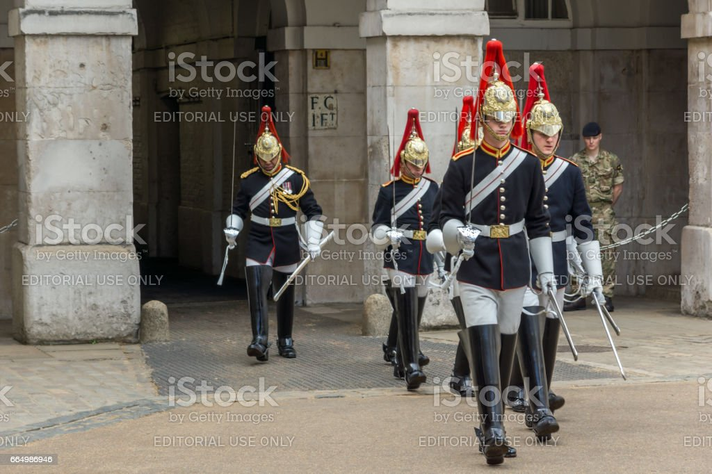 Horse Guards Parade, City of London, England, Great Britain stock photo