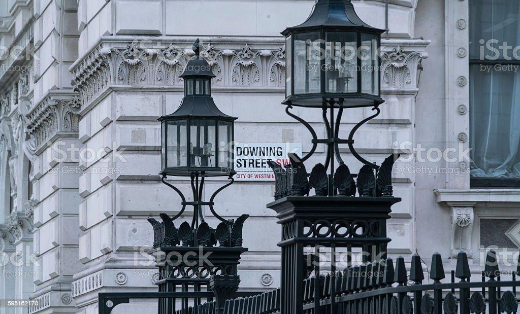 Horse Guards Parade Entrance London Lizenzfreies stock-foto