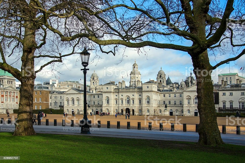 Horse Guards Parade - London - England stock photo
