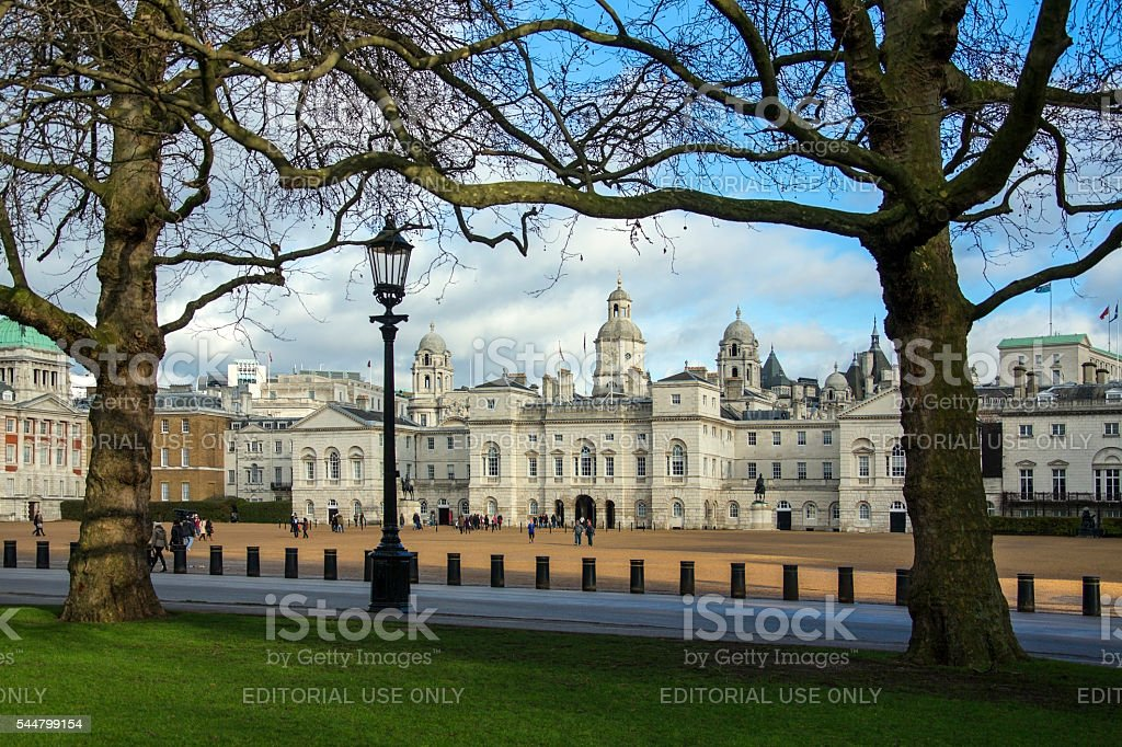 Horse Guards Parade - London - England stock photo