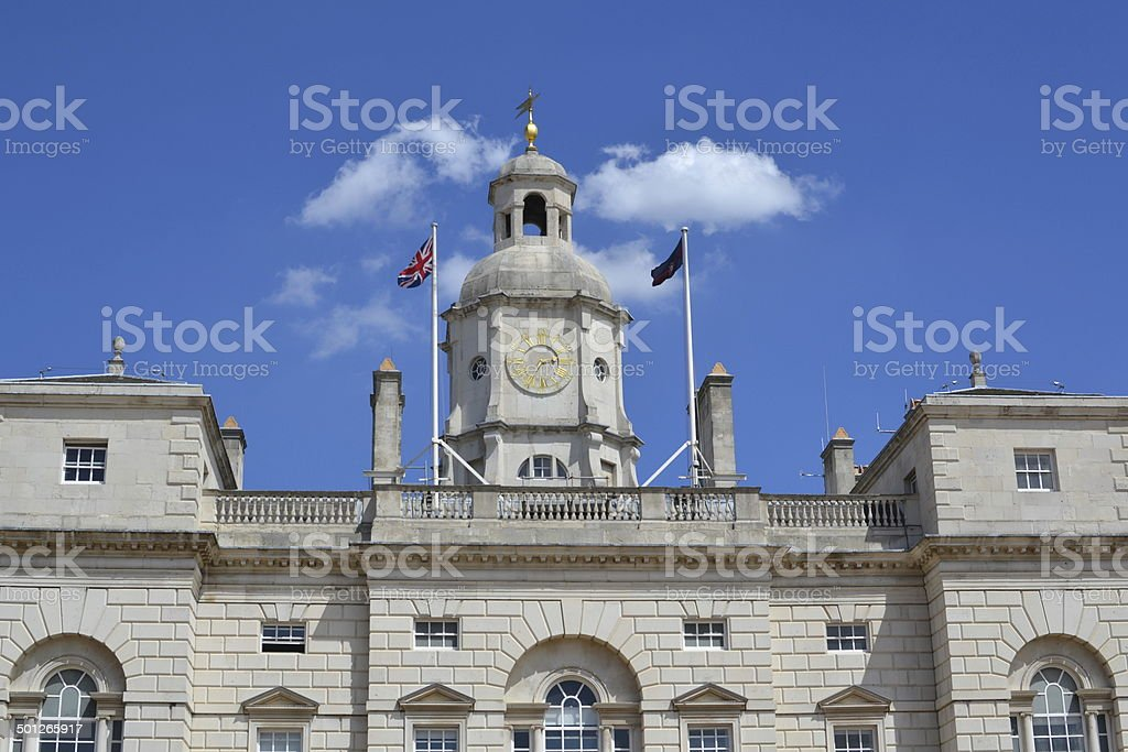 Horse Guards Parade, London stock photo