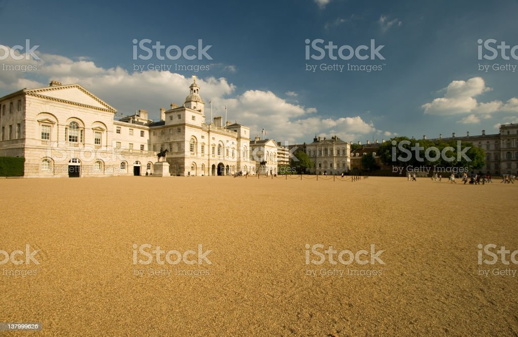 Horse Guards Parade, London, UK royalty-free stock photo