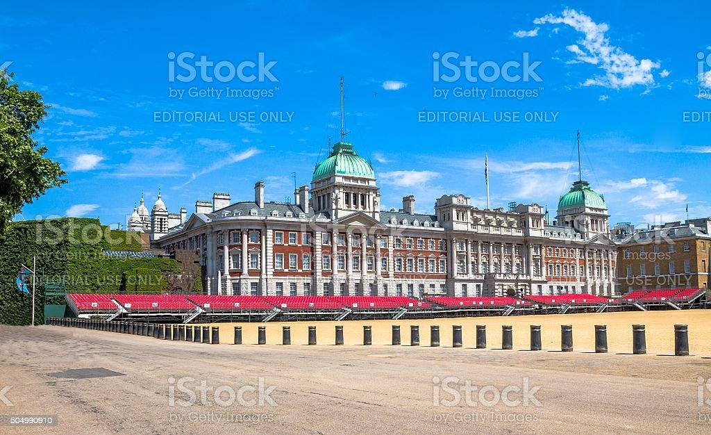 Horse Guards Parade. London. UK stock photo