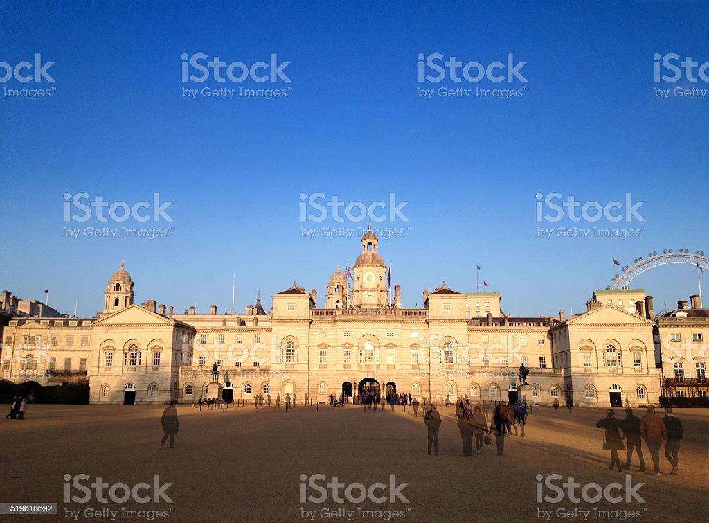 Horse Guards Parade, London, UK stock photo