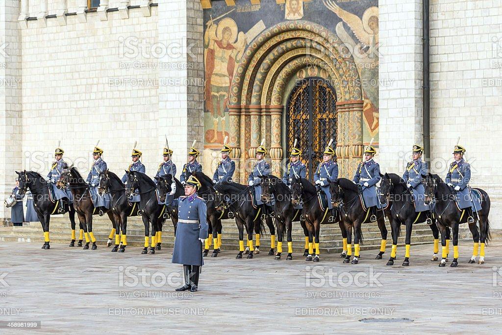 Horse Guards parade royalty-free stock photo