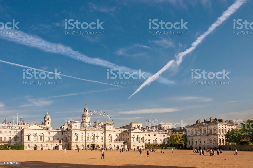 Horse Guards Parade stock photo