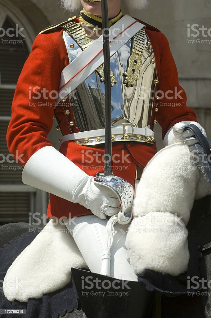 Horse Guards royalty-free stock photo