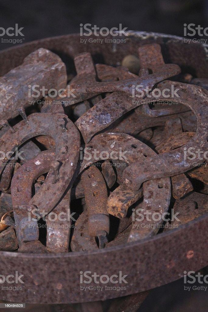 horse iron royalty-free stock photo