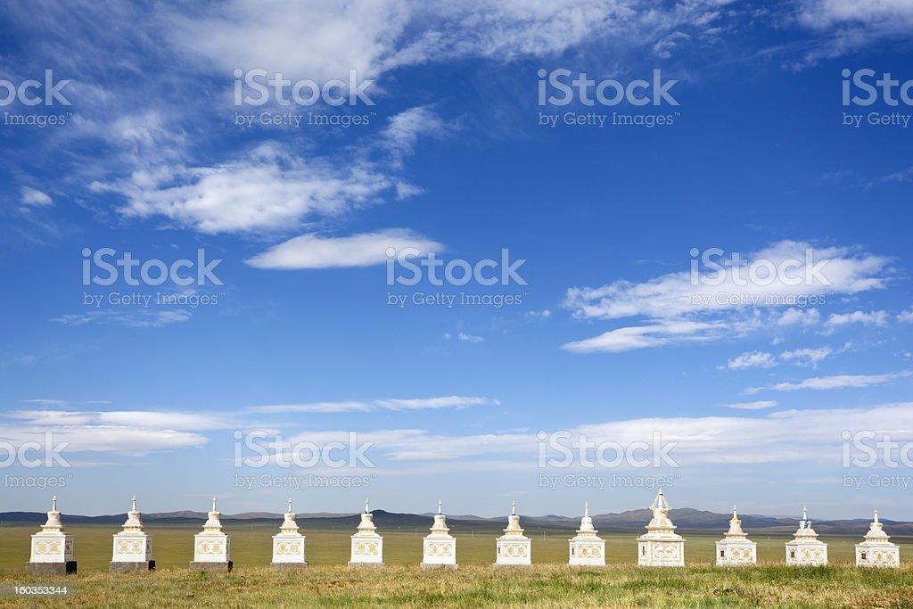 Horse monument royalty-free stock photo