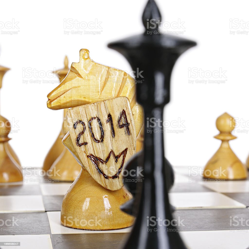 Horse of 2014 royalty-free stock photo