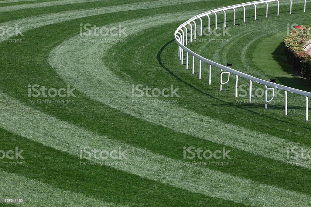 Horse Racing Track royalty-free stock photo