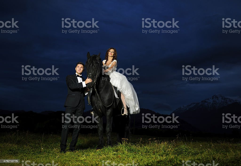horse ride royalty-free stock photo
