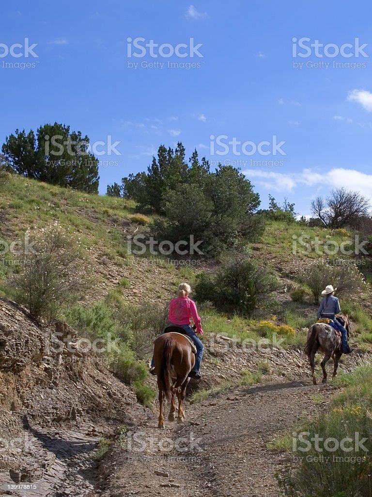 Horse Riders royalty-free stock photo