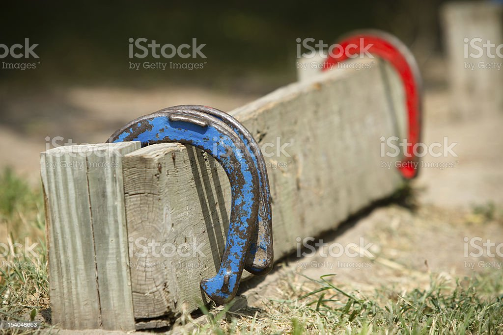 Horse Shoes royalty-free stock photo