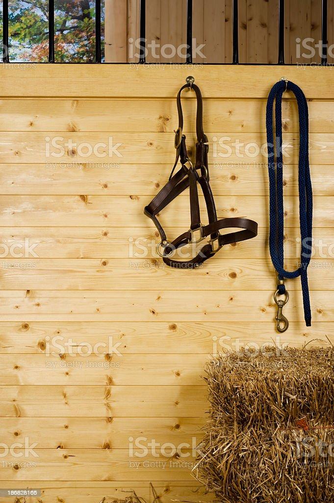 Horse stall royalty-free stock photo
