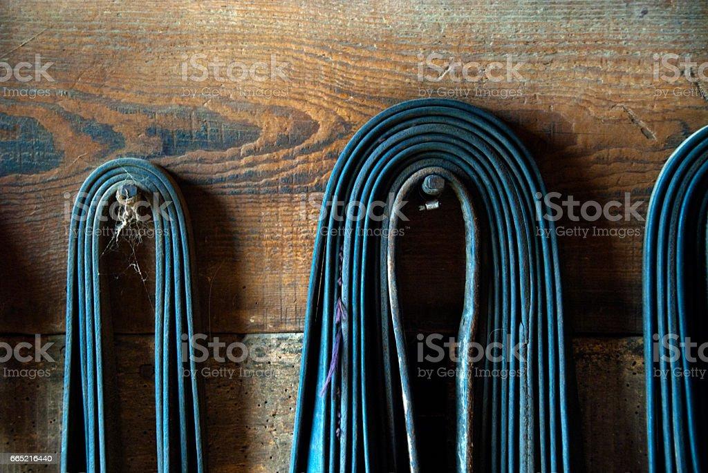 Horse Straps - Horse Tack stock photo