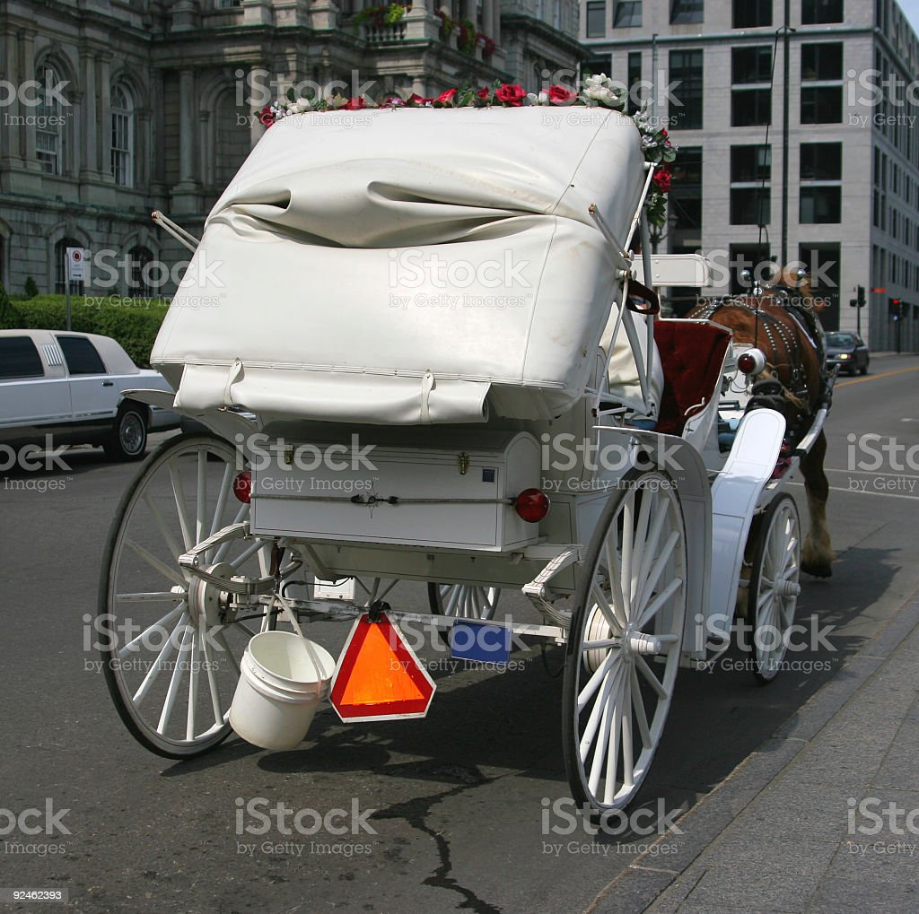 Horsedrawn Carriage royalty-free stock photo