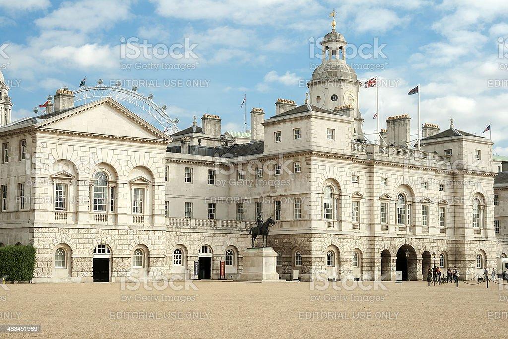 Horseguards Parade, London royalty-free stock photo
