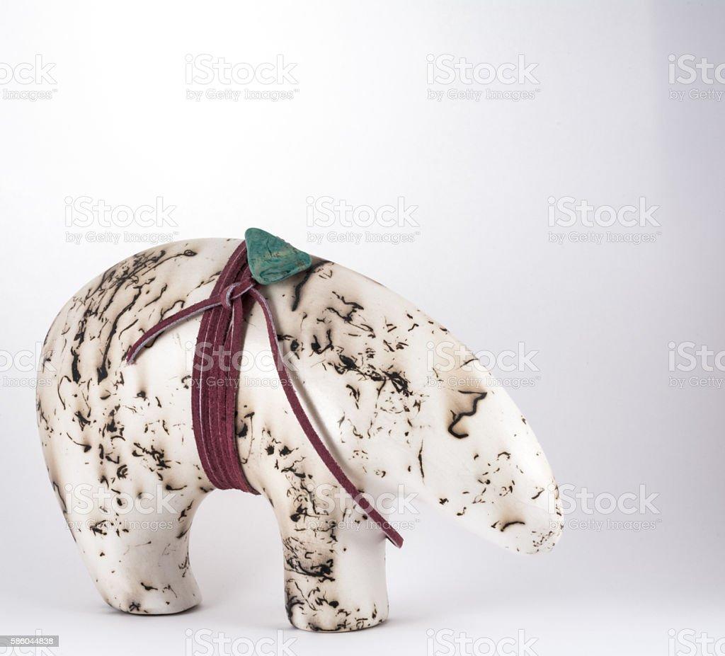 Horsehair Bear stock photo