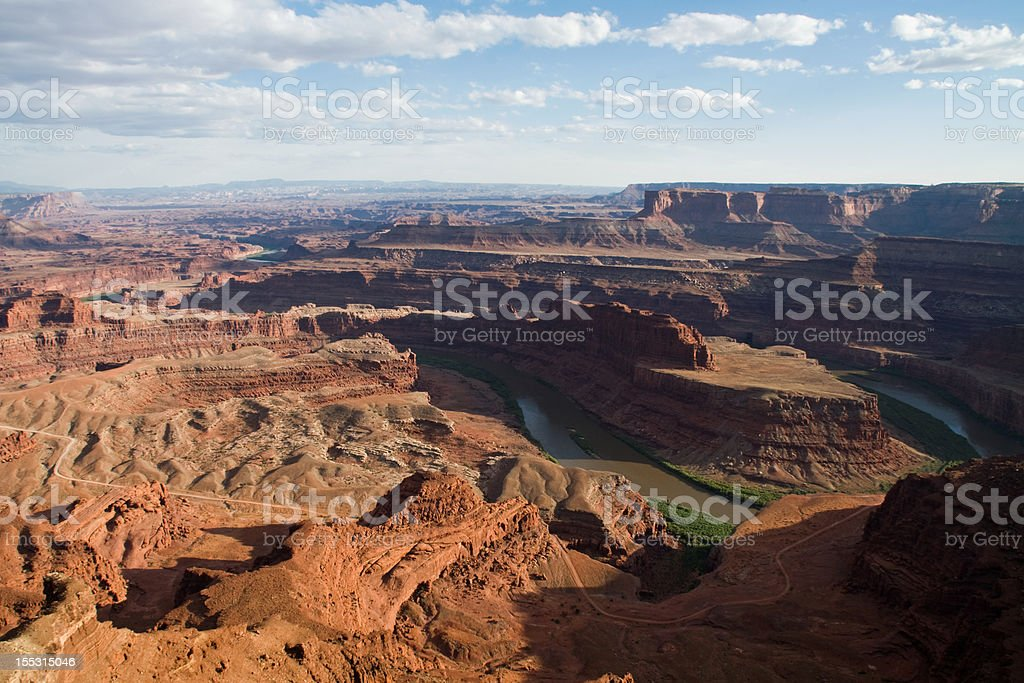 Horsehoe Bend, Dead Horse Point State Park, Utah   stock photo