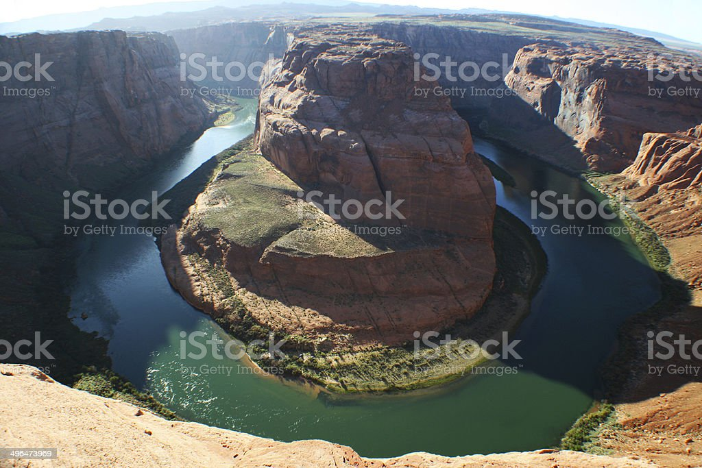 Horsehoe Bend Page stock photo